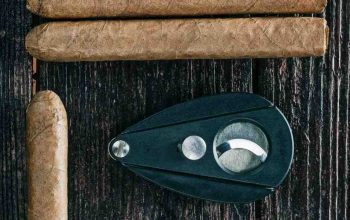 JiFENG Metal Construction Painted Skull in Black Cigar Cutter Review