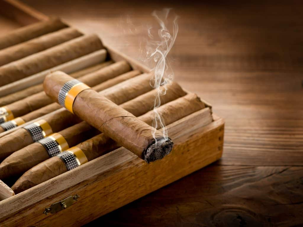 What are Cigar Humidors made of?