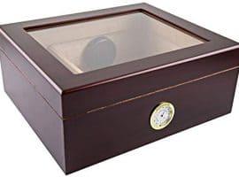 wooden humidor box