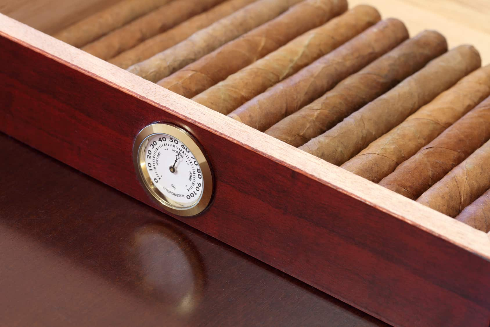 box with cigars