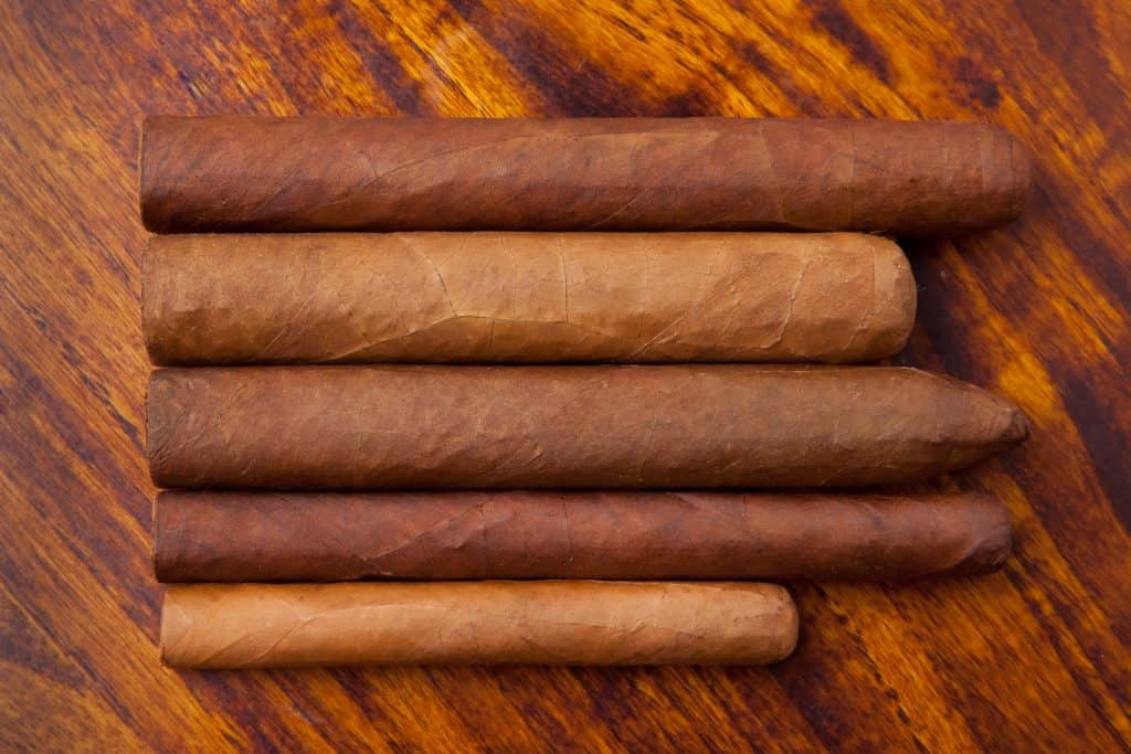 Cigars of different