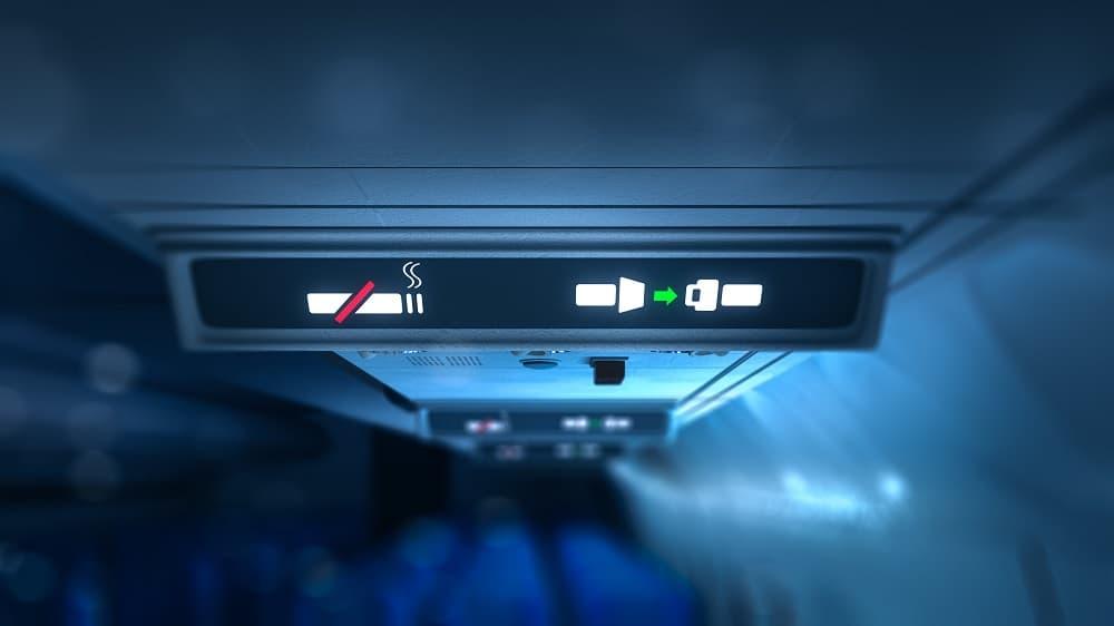 airplane no smoking sign