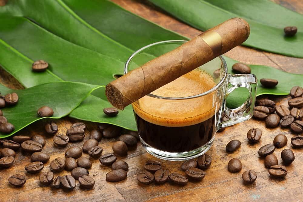 espresso and cigar