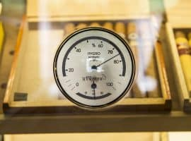 Hygrometer and cigars