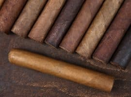 cigars stacked next to each other